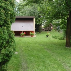 Vonyarcvashegy - Muskátli ház - udvar