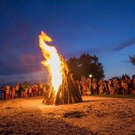 Szent Iván éji tűzgyújtás