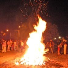 XXV. Szent Iván - éji tűzgyújtás
