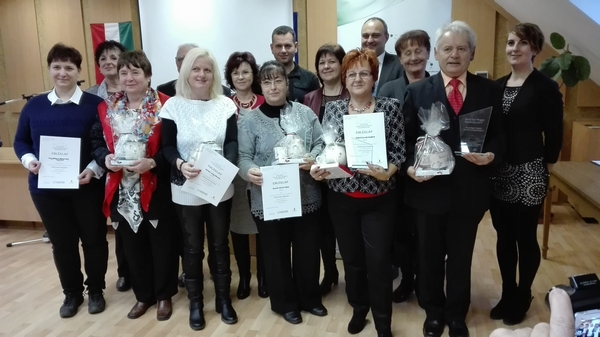 Zala megyei önkéntes díj-kicsi