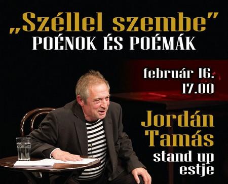 Jordán Tamás stand up estje