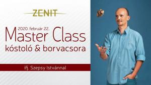 Zenit- Master Class kóstoló és borvacsora
